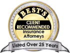 Best's Client Recommended Insurance Attorneys